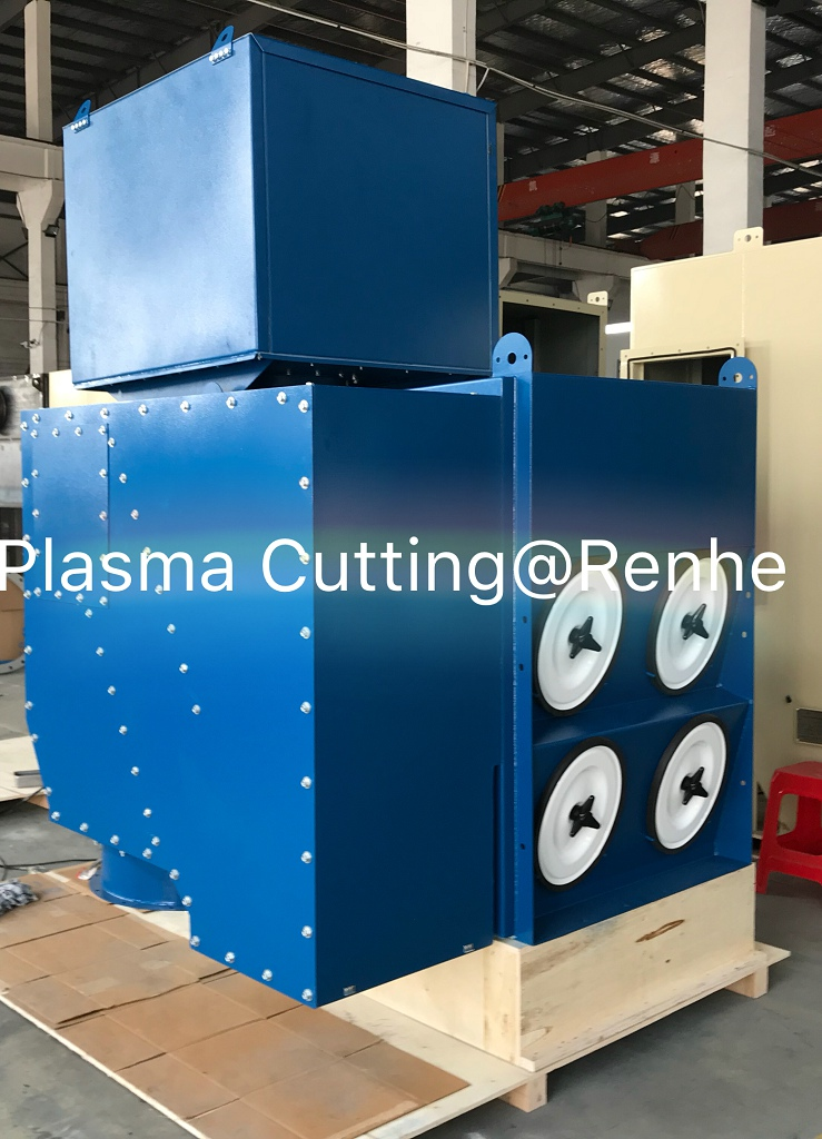 dust collector for plasma cutting